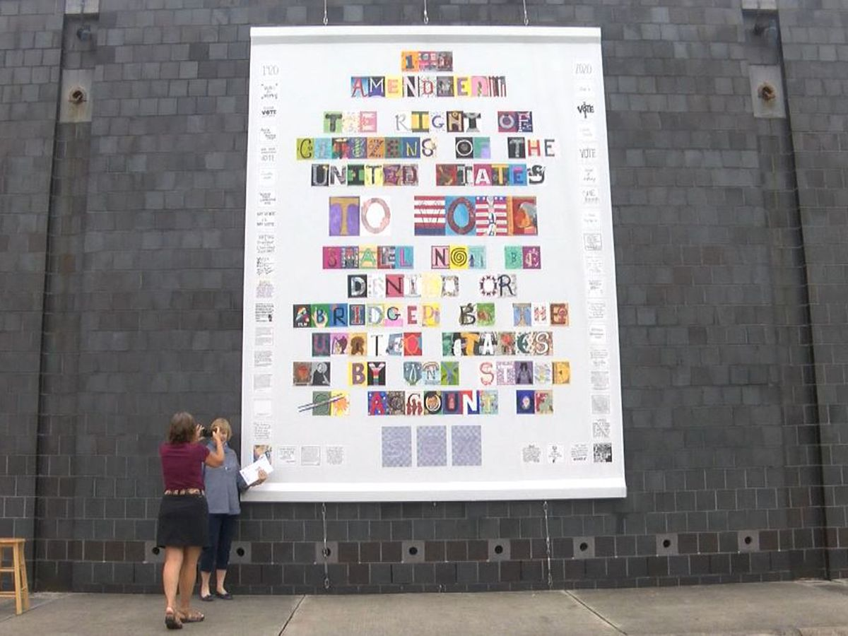 Cameron Art Museum celebrates 19th Amendment with community art project