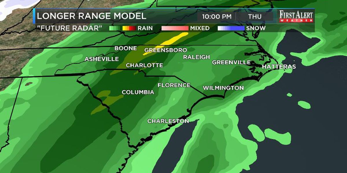First Alert Forecast: warm now, stormy soon