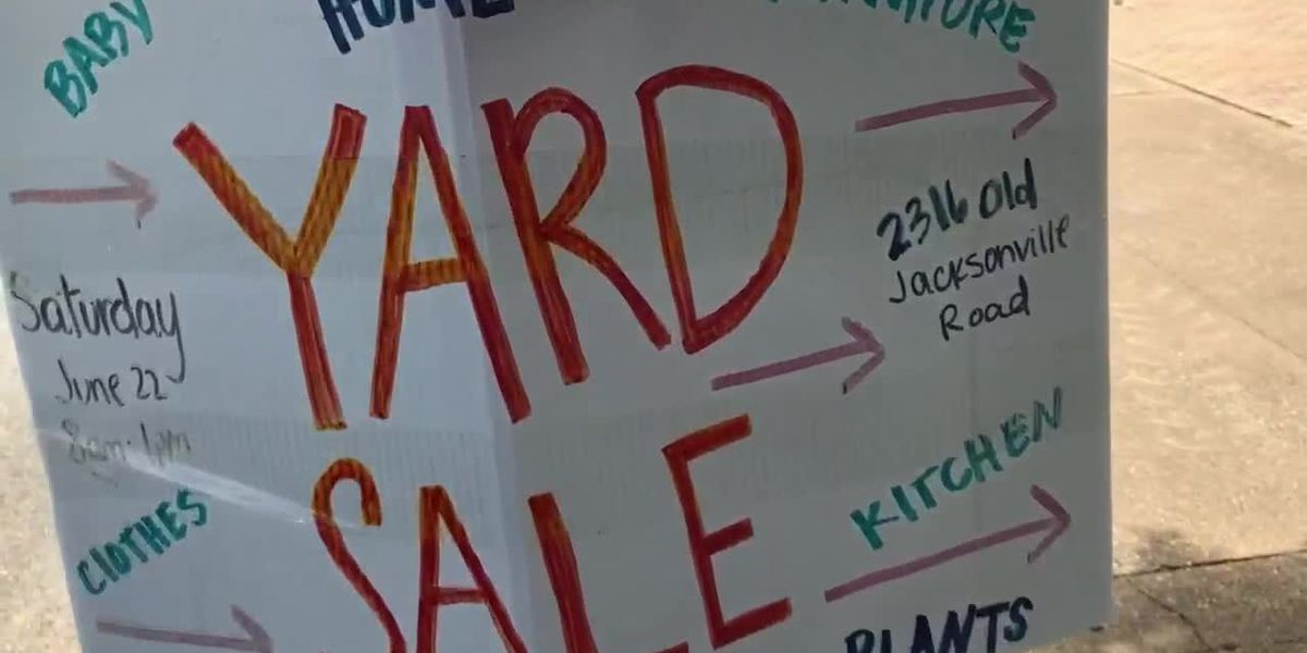 Yard sales July 20