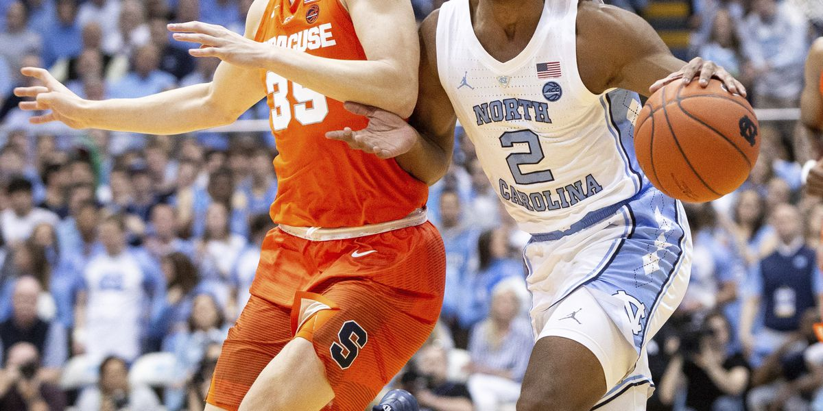 White's 34 points help No. 5 North Carolina beat Syracuse