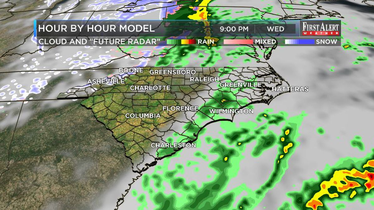 First Alert Forecast: from wet and mild to cold and dry