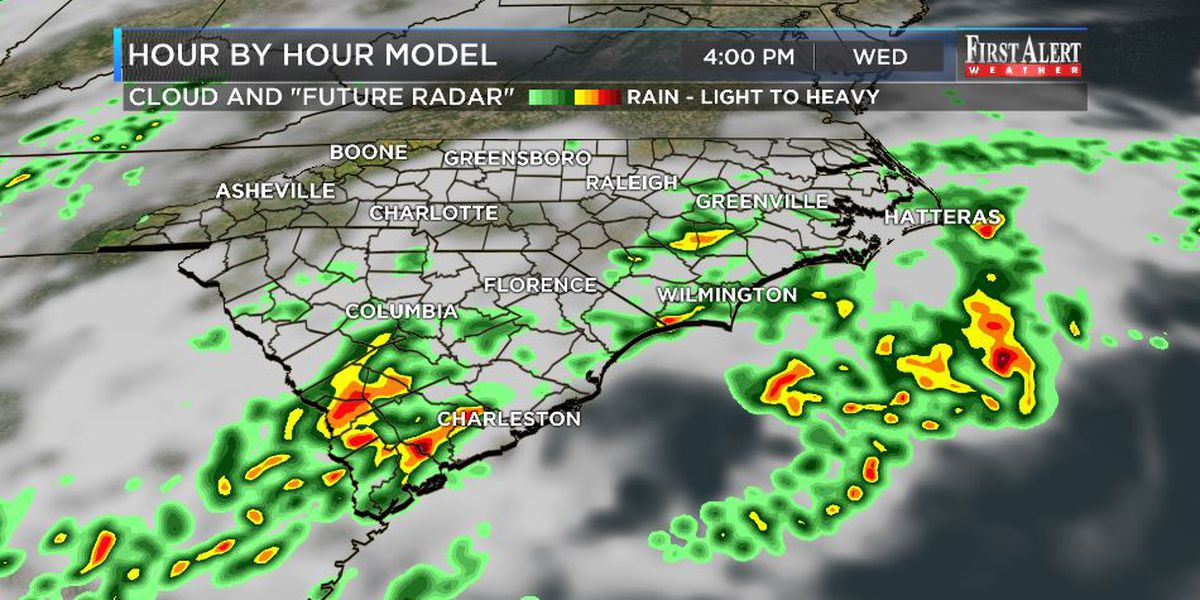 First Alert Forecast: soggy to sunny