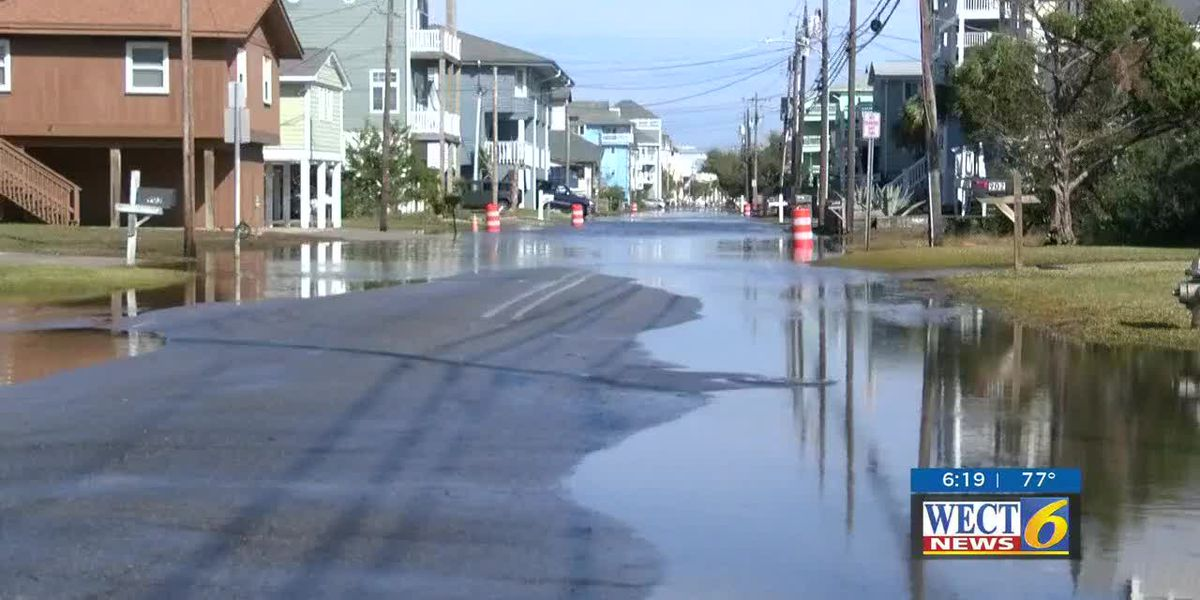 Carolina Beach taking steps to eliminate flooding on Canal Drive