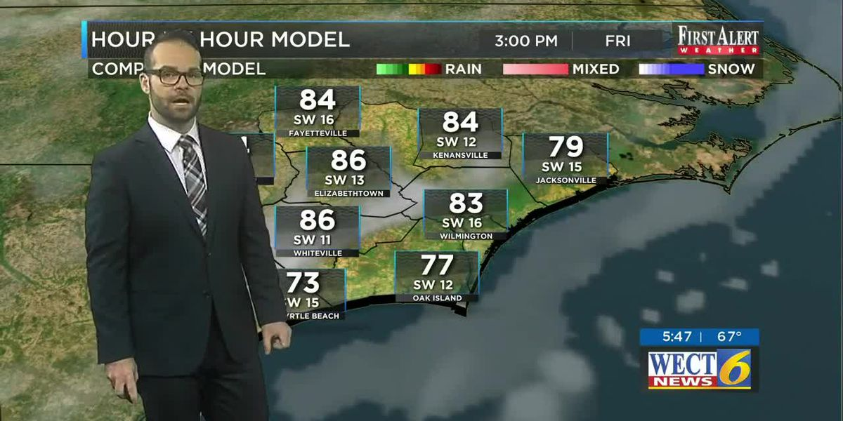 Your First Alert Forecast from Fri. morning, Mar. 20, 2020