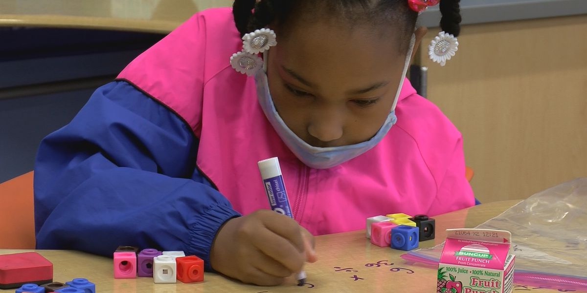 Students learn math, problem-solving skills through hands-on learning initiative