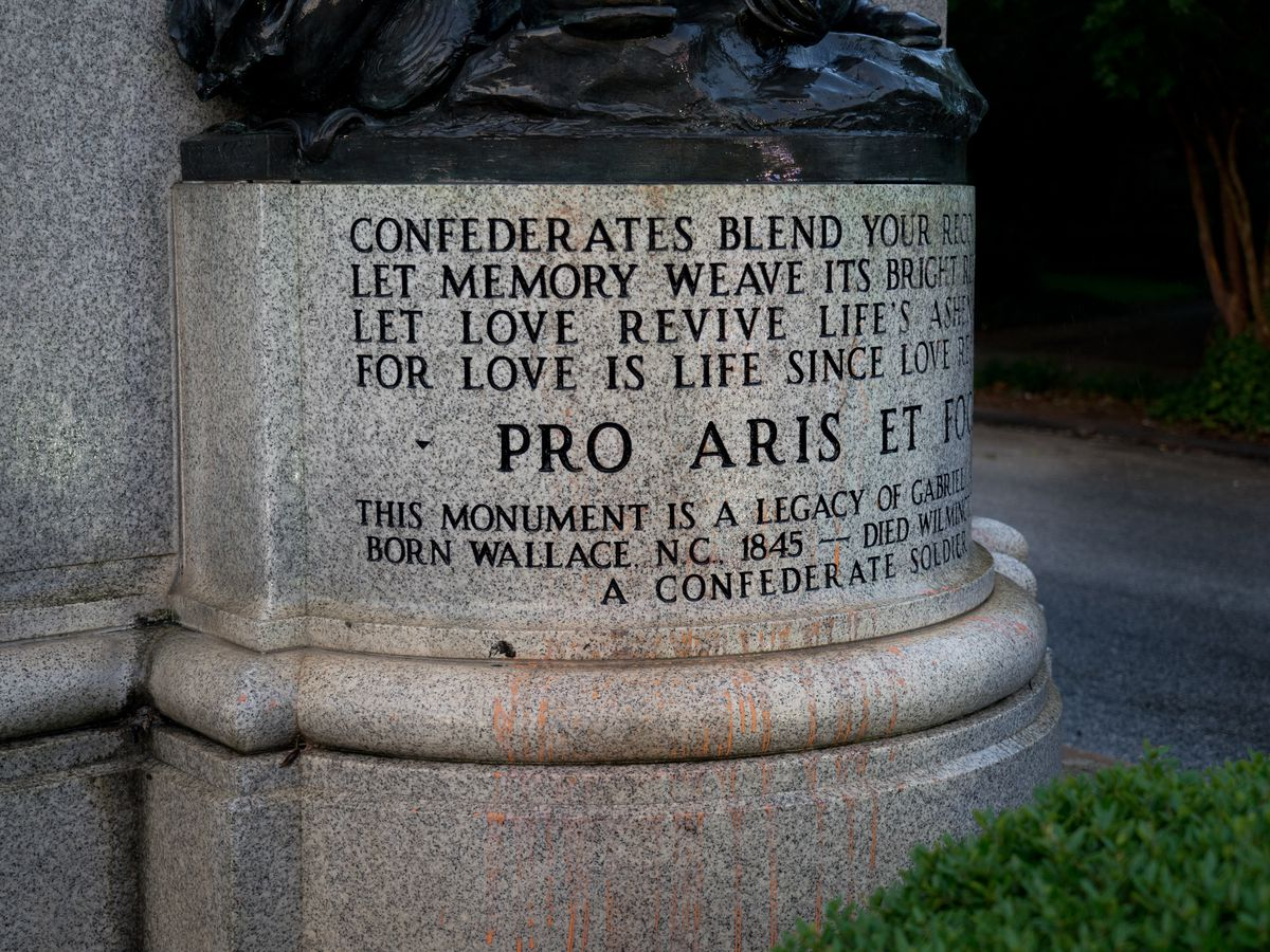 """""""It's a weight off our shoulders"""": Family with slavery ties says removal of Confederate monuments is a relief"""