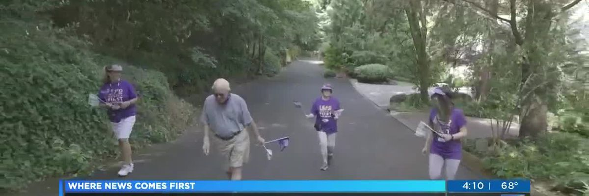 The Walk to End Alzheimer's is everywhere this year