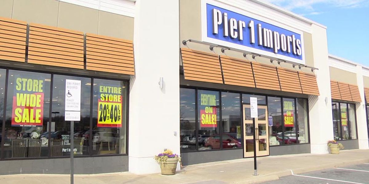 Pier 1 Imports looking to shut down stores 'as soon as reasonably possible'