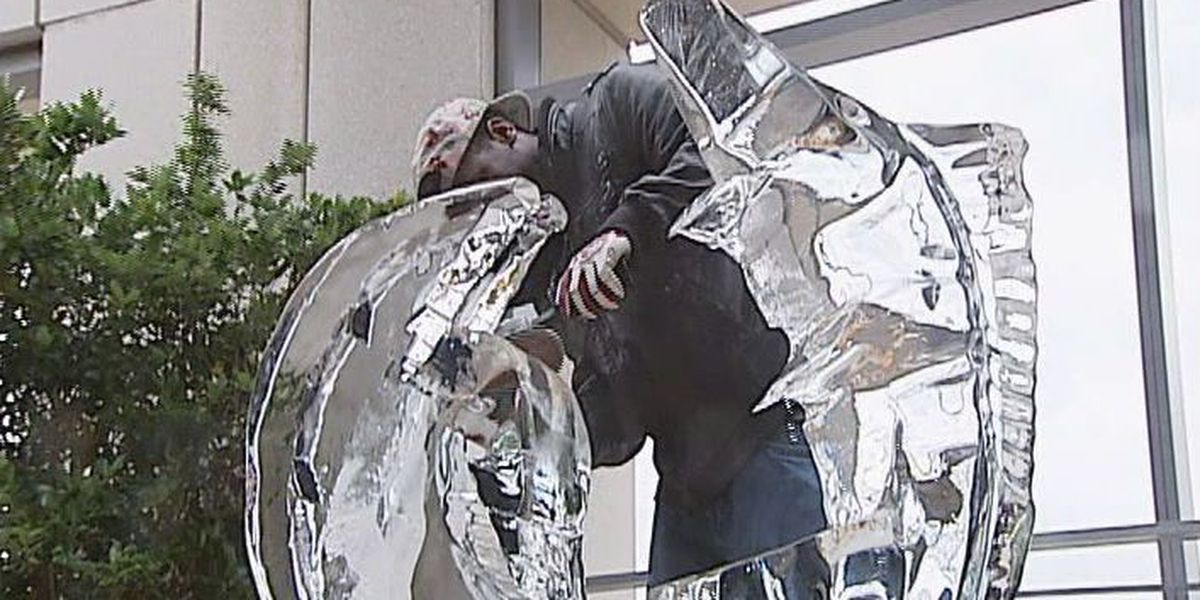 Ice, Ice, Baby: CFCC students learn to sculpt ice