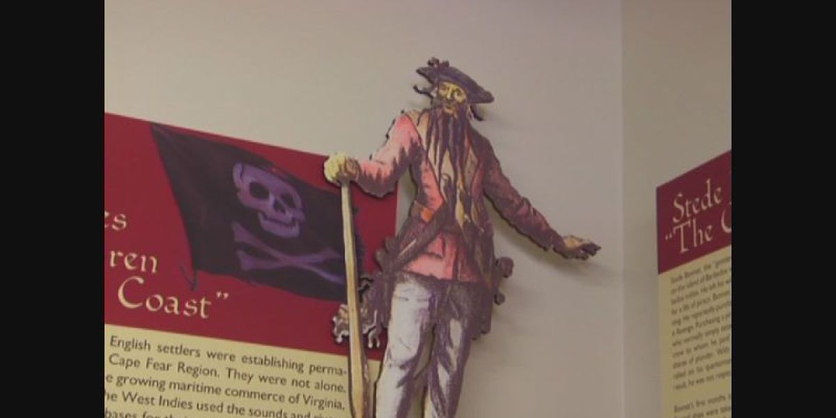 This weekend marks 300th anniversary of Blackbeard's ship running aground off NC coast