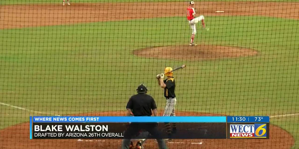 Blake Walston drafted 26th overall