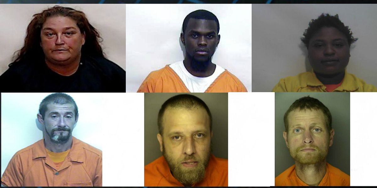 Columbus County deputies looking for 8 suspects for property, financial crimes