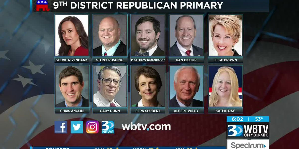 Candidates face off in primary NC District 09 election