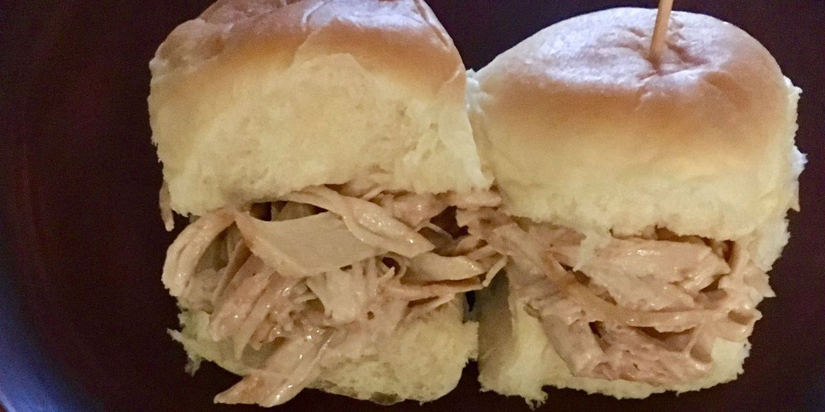 First at Four Recipe: Pulled BBQ Turkey Sliders