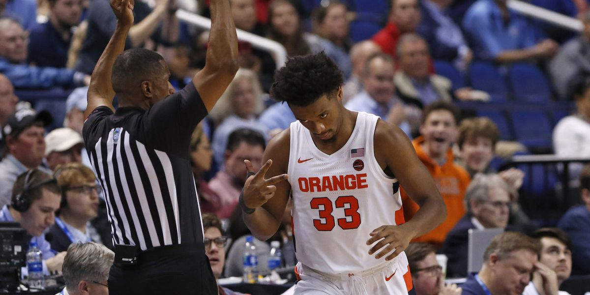 Hughes, Syracuse roll past UNC 81-53 in ACC 2nd round