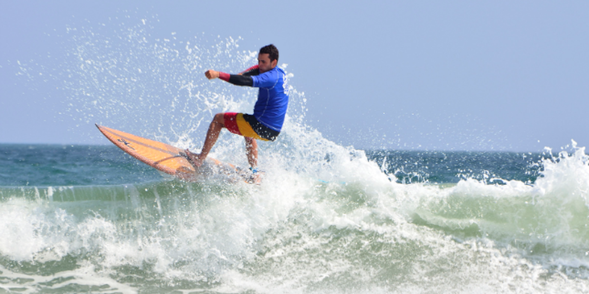 Frenchman wins Wrightsville Beach surf pro-am