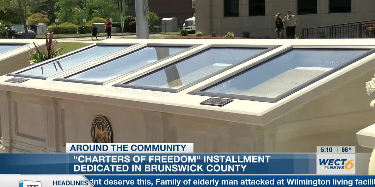 Charters of Freedom installed in Brunswick County