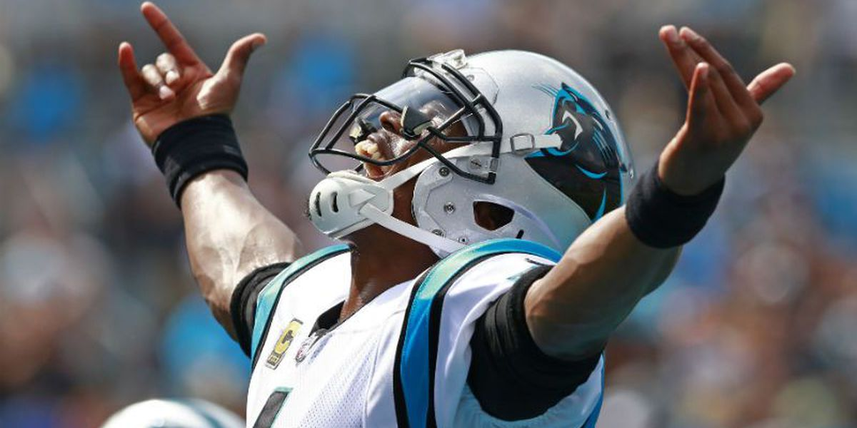 Newton scores four TDs in Carolina's win over Cincy