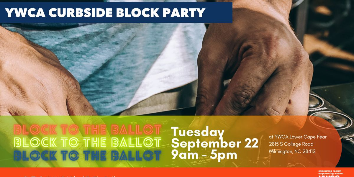"YWCA hosts ""From the Block to the Ballot"" curbside registration drive"