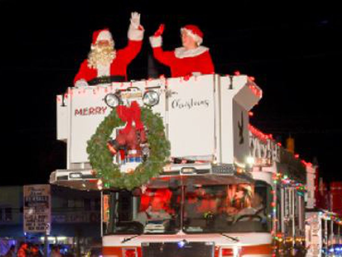 TRAFFIC ALERT: Road closure information for tonight's Carolina Beach Christmas Parade