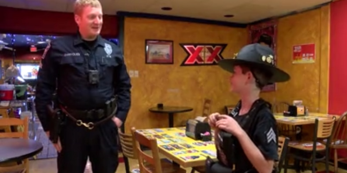 Officer Travis says goodbye to Wilmington