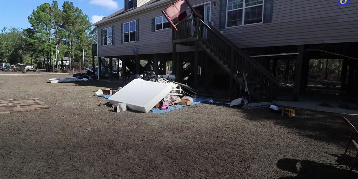 All but two homes in Burgaw neighborhood destroyed by Florence