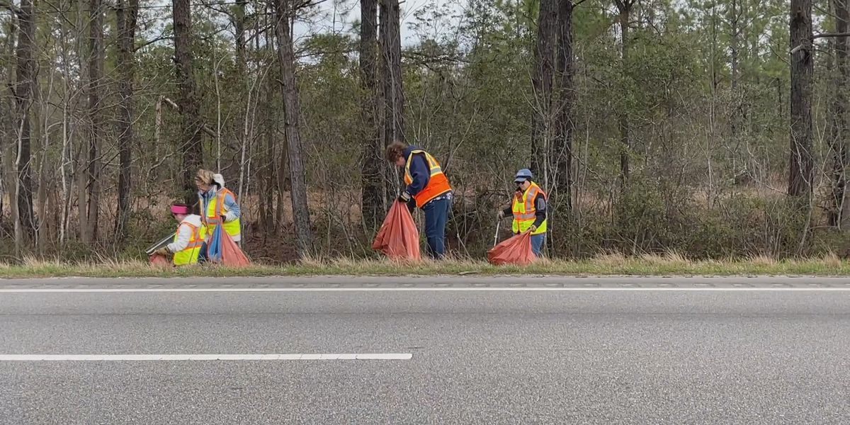 Over 1 million pounds of roadside litter collected this year