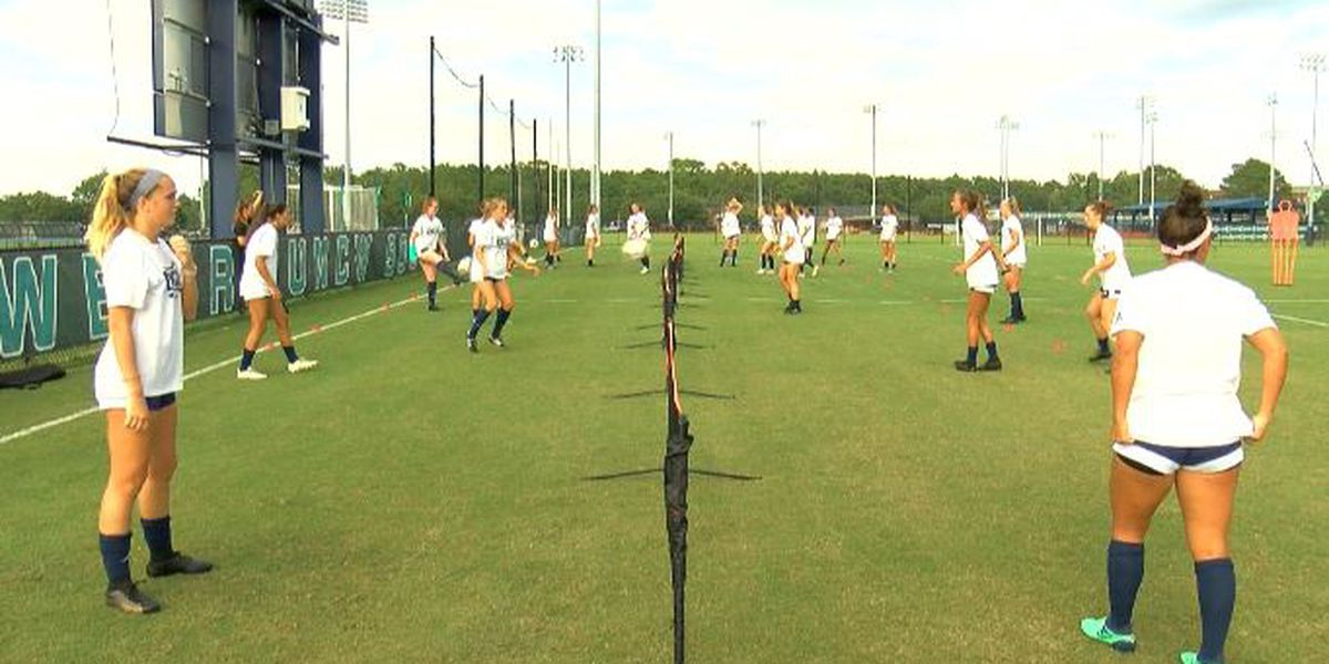 High expectations coming into the season for the UNCW women's soccer