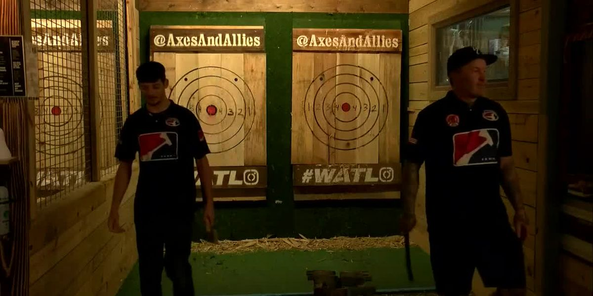 Wilmington axe throwers prepare for world championship