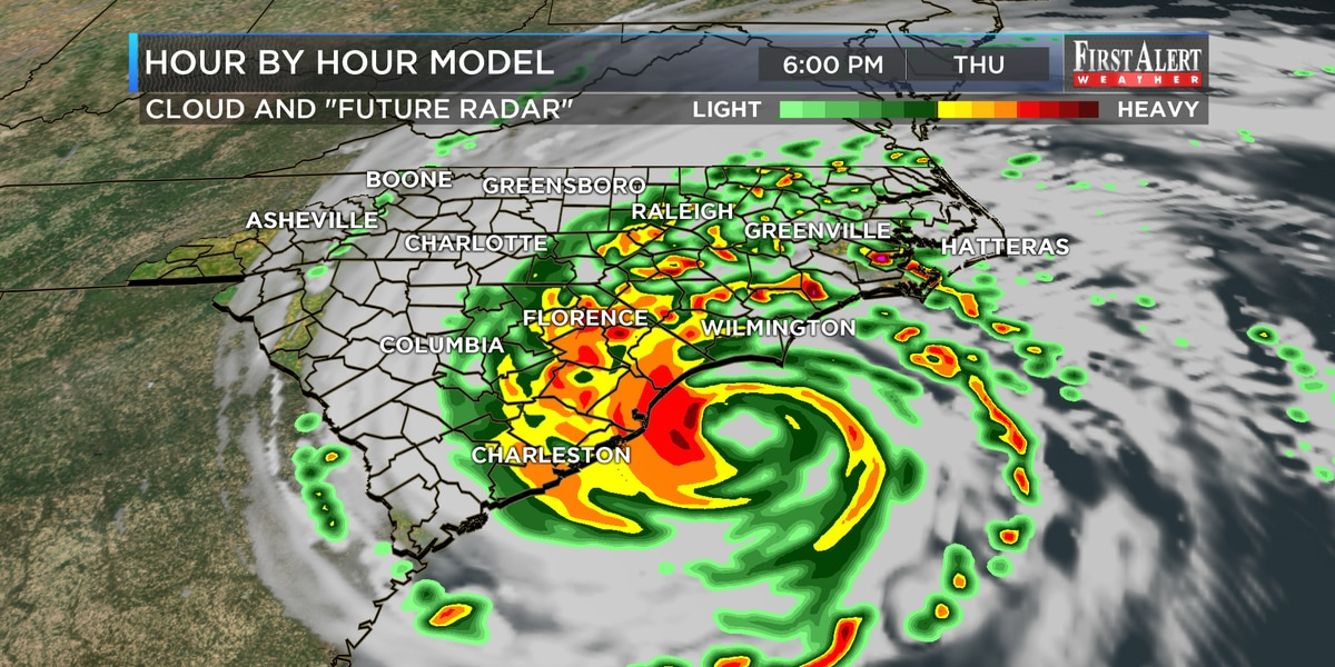 First Alert Forecast: Dorian on-track to impact Cape Fear Region