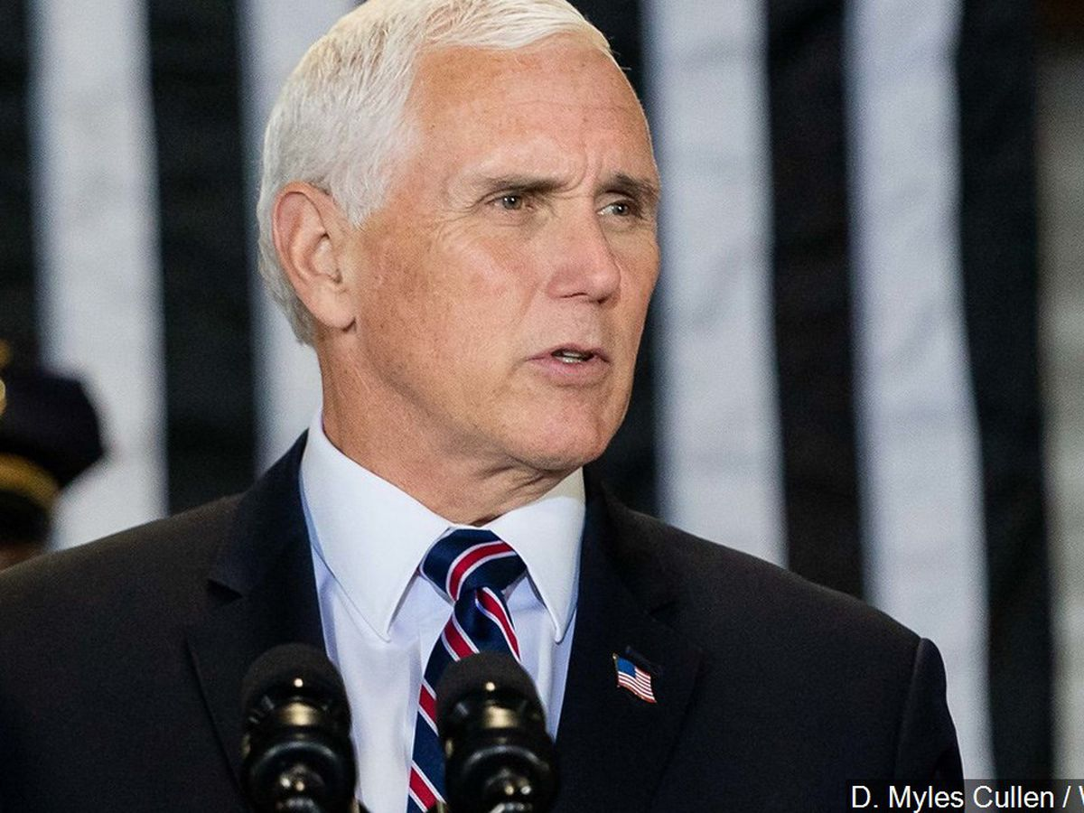 Former VP Pence in Columbia for first public address since leaving office