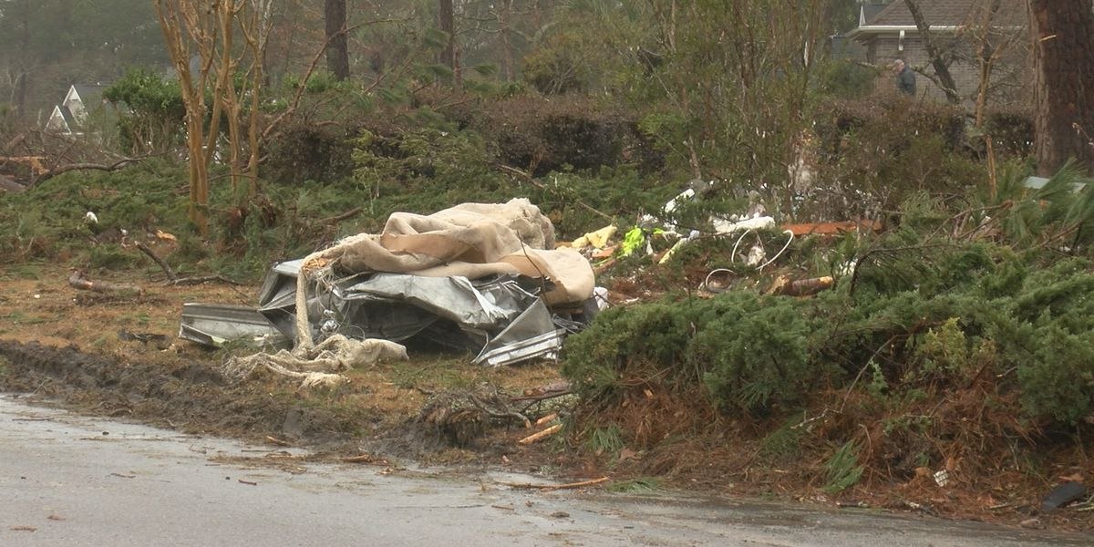 Recovery center residents lend helping hand to Brunswick County tornado victims