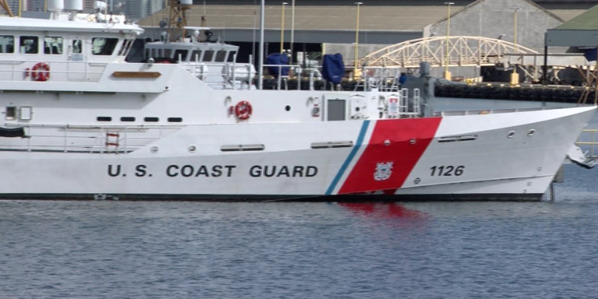Coast Guard rescues boater off Oak Island