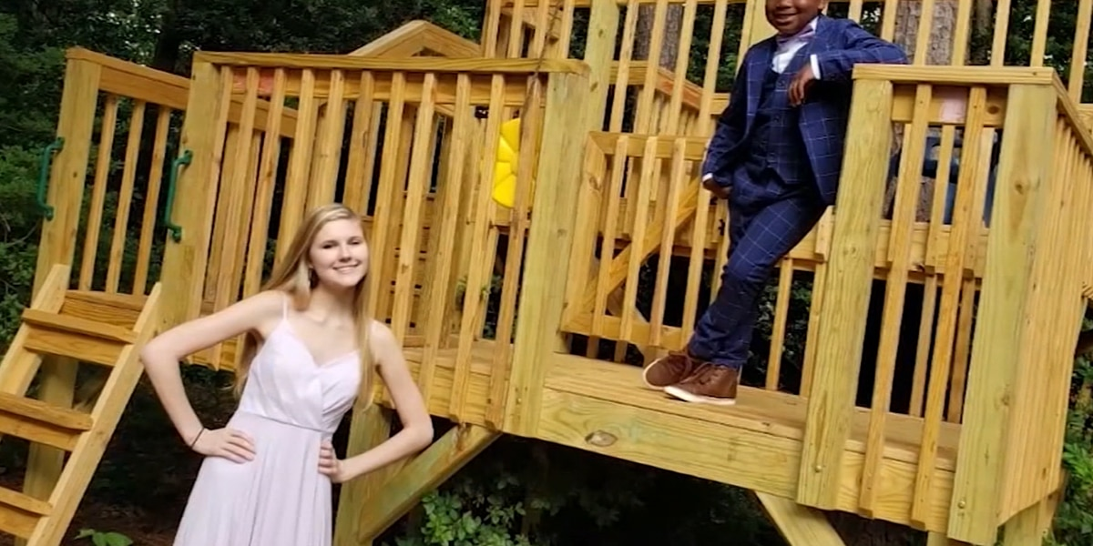 7-year-old boy throws a prom for his nanny
