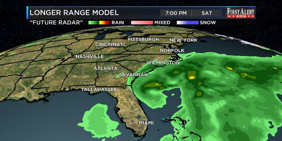 First Alert Forecast: rain chances to redevelop shortly