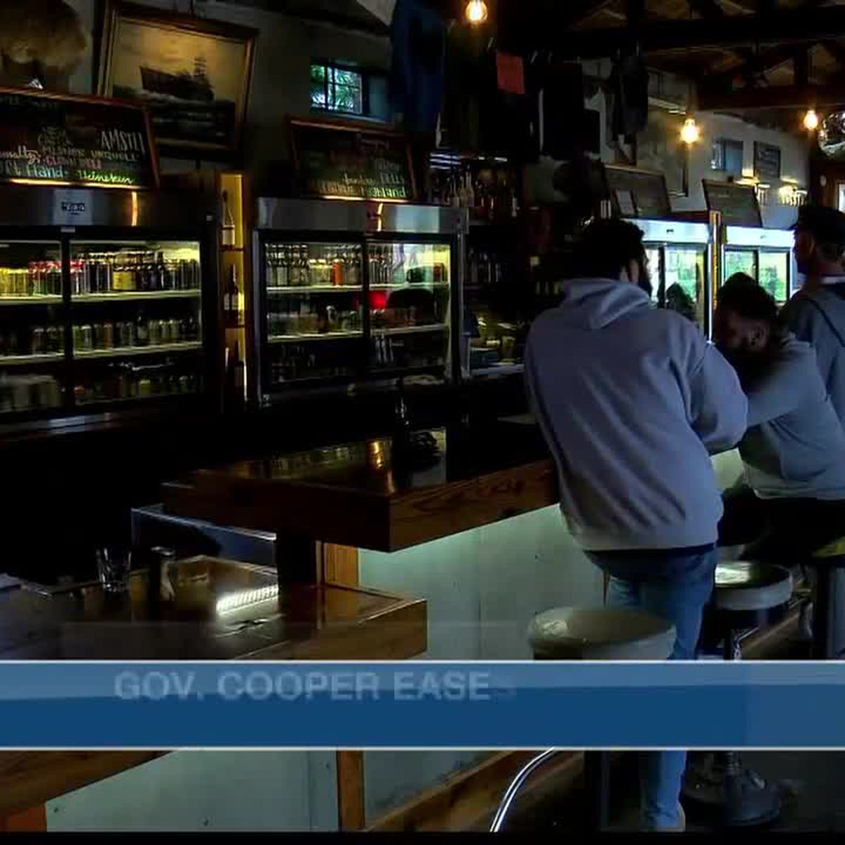 Local reaction to Governor Cooper easing restrictions on bars