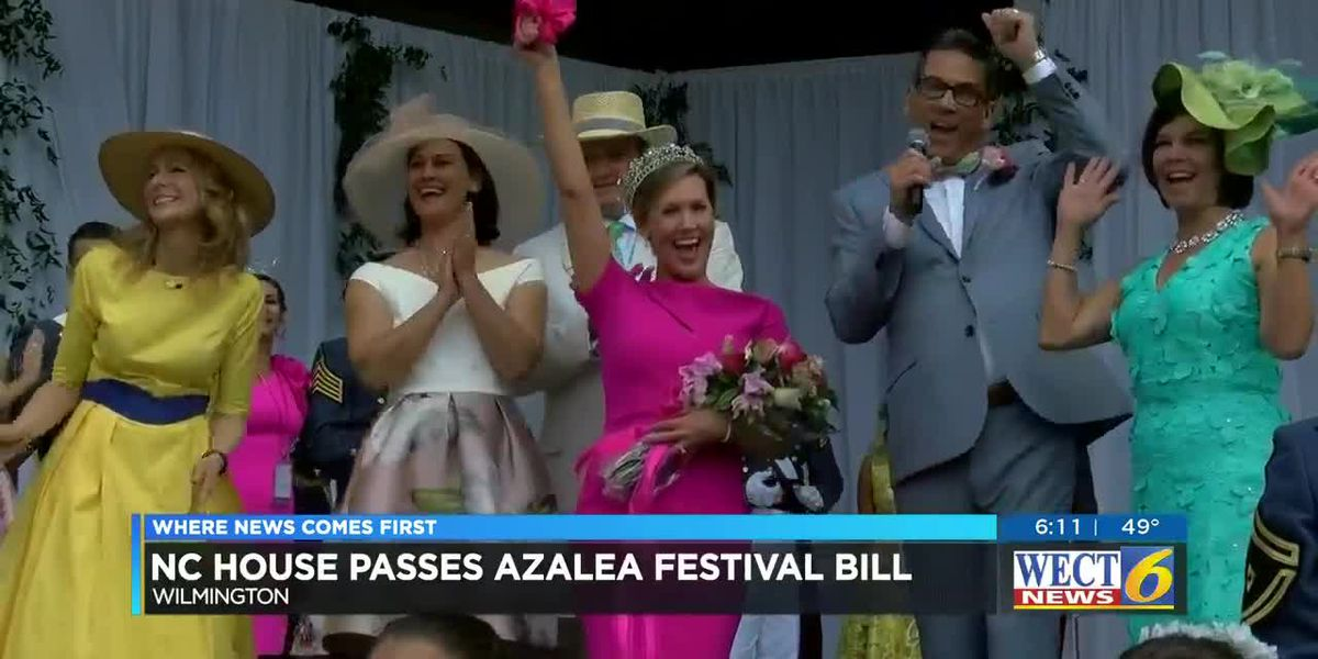 NC House approves bill to adopt the North Carolina Azalea Festival the state's official azalea festi