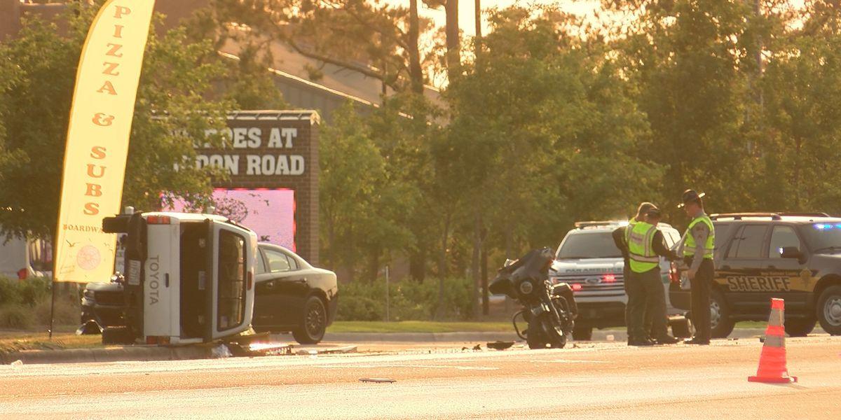 Motorcyclist dead, two more injured in crash that shut down Gordon Road