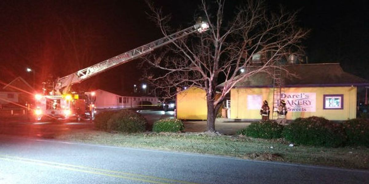 Arson suspected in fire that damaged popular Whiteville bakery