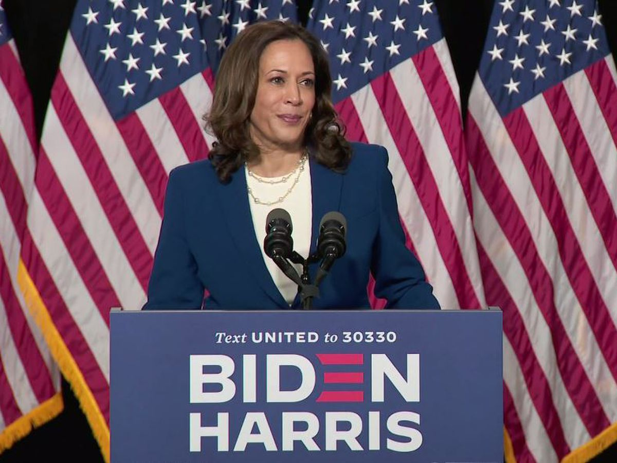 Kamala Harris, husband test negative for COVID-19