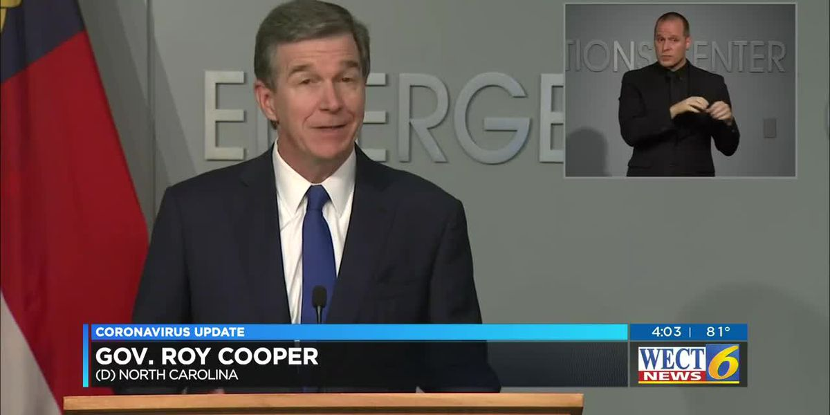 Gov. Cooper: Announcement on schools coming next week