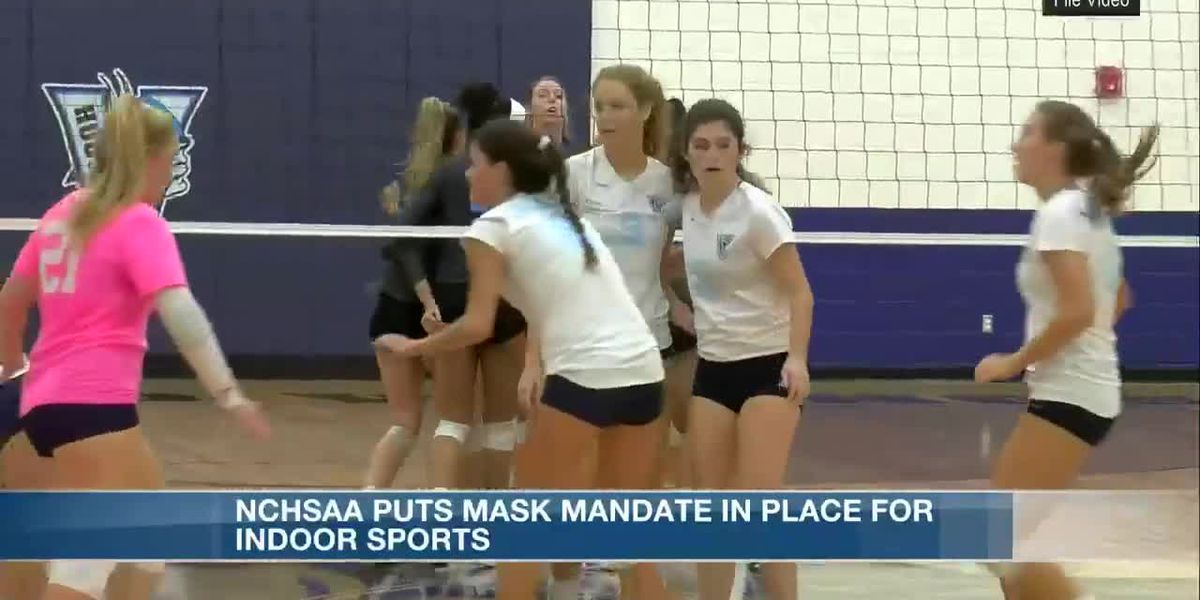 NCHSAA mandates mask wearing for indoor sports