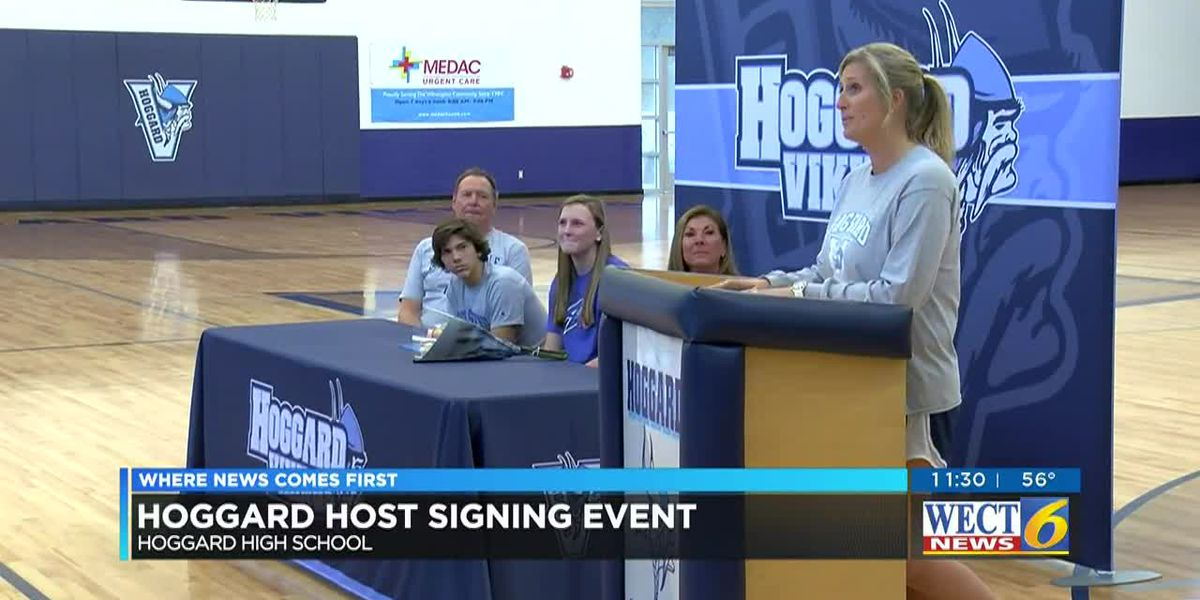 Hoggard signing event