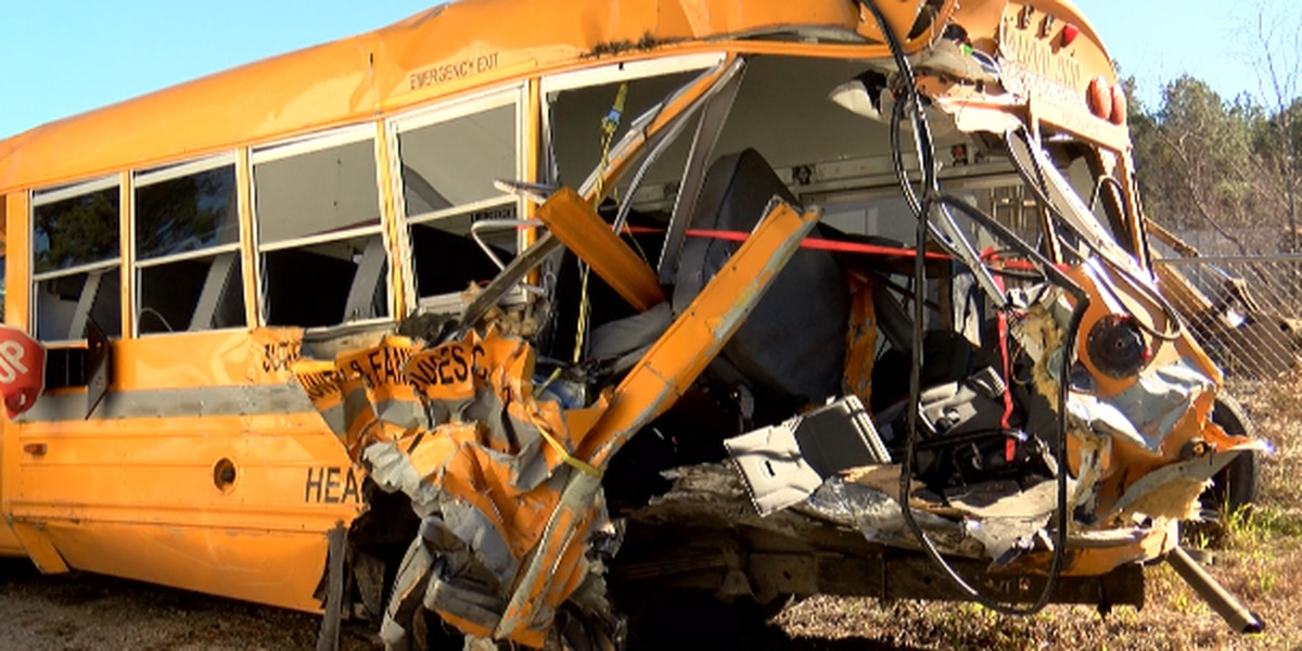 'It's a blessing that we are alive today:' three remain in hospital after bus hit by semi truck