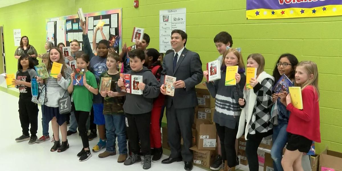 NC Schools Superintendent visits Town Creek Elementary six months to the day after Florence hit