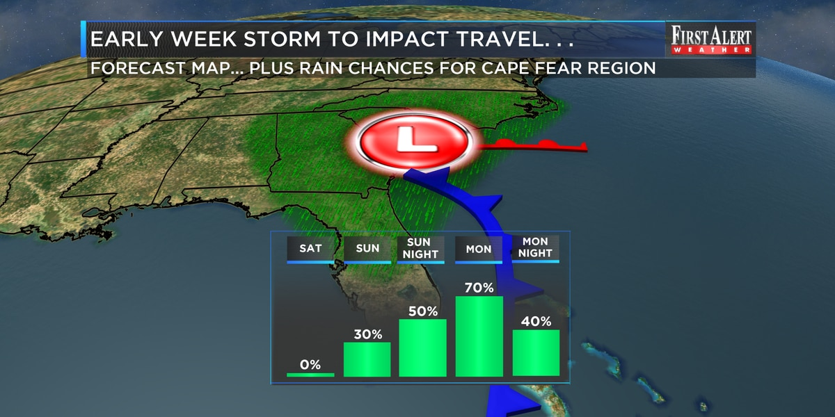 First Alert Forecast: cold start but trending milder and at times wetter for holiday travel