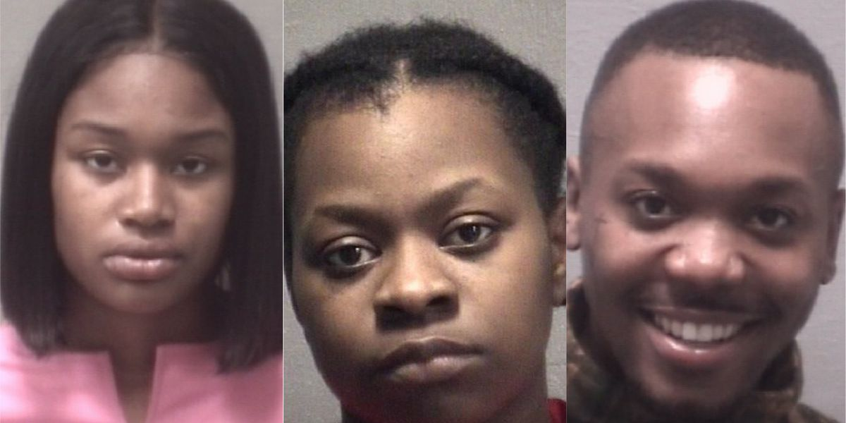 Wilmington trio accused of running retail theft ring