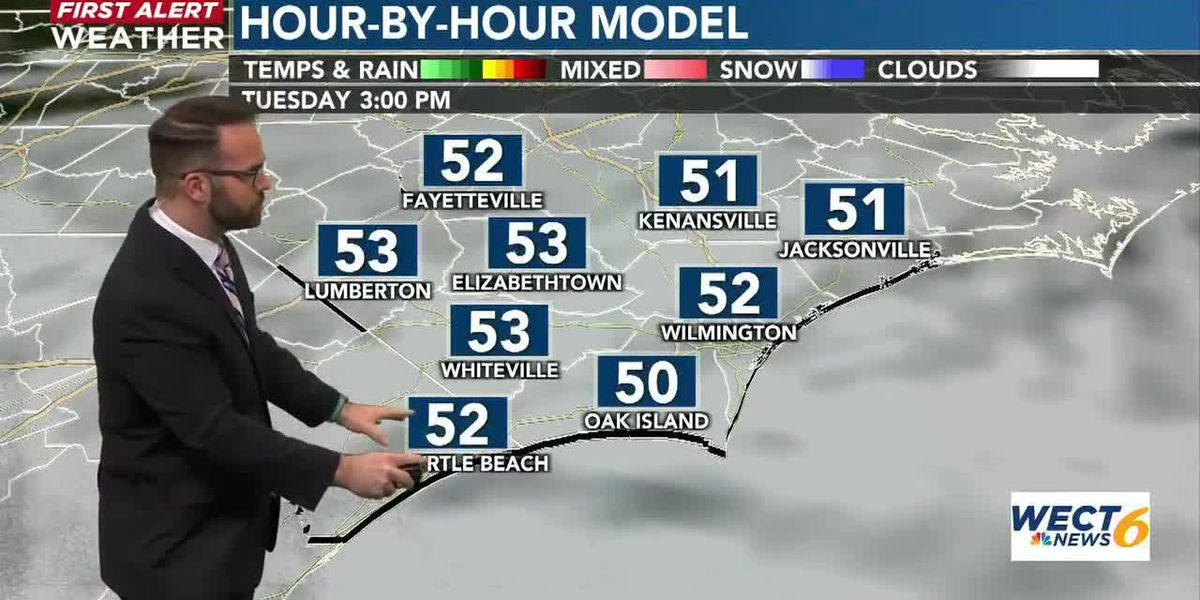 Your First Alert Forecast from Mon. Evening, Mar. 1, 2021
