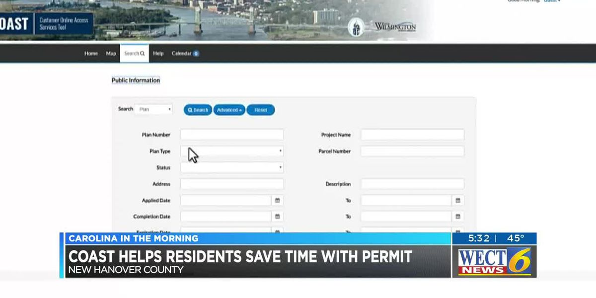 Online tool helps make permit process in New Hanover County as easy as possible