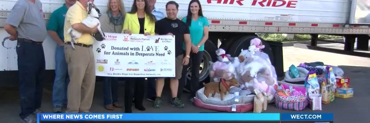 Pet donation drive helps hurrican victims keep their pets